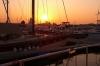 Sonnenuntergang Fischereihafen