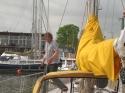Decksgaenger - Markus auf dem Weg zur Sunflower
