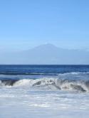 La Gomera - Wellen-Berg (Teide ist im Hintergrund zu erkennen)