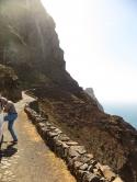 typische Bergstrasse auf Santo Antao, oberhalb von Ponta do Sol