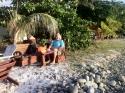 Am Strand von Deshaies, Guadeloupe 2015