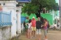Seglertreffen in Olinda: die Touriinfo ist Anlaufstelle für die Crews der Inti, Kassiopeia und naja