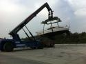 Auskranen am C-Port - Oktober 2011