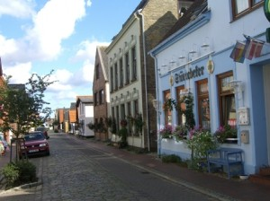Kneipenidylle in Maasholm
