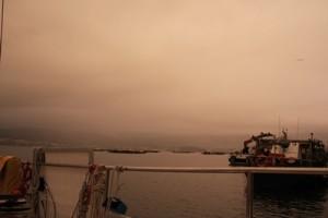 Kurz vor dem Regen - Ria de Vigo