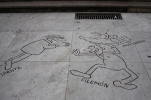 Ein Platz der Kuenstler, Satiriker, Komiker, Schriftsteller
