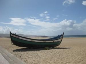 Strandgut - am Strand von Nazaré