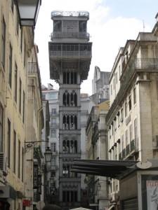 Aufzug in der Baixa