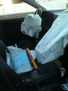 Innenleben....gut, dass es Airbags gibt!