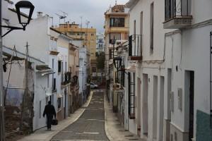 In der Altstadt von Estepona