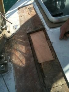 Passgenau zurecht gesaegt - mein Skipper entwickelt sich zum passionierten Handwerker