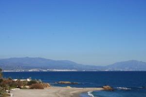 Auf dem Weg von La Linea nach Estepona