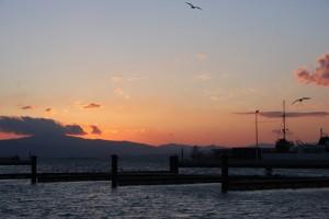 Abendsonne über Algeciras