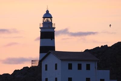 Leuchtturm in Puerto de Soller