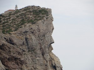Fels-Skulptur - Insel Dragonera