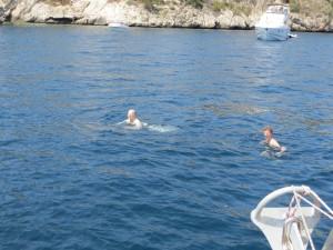 Badespass fuer unseren heutigen Besuch aus Verden