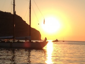 Sonnenuntergang in Port Soller