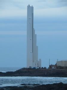 Leuchtturm am Punta del Hidalgo