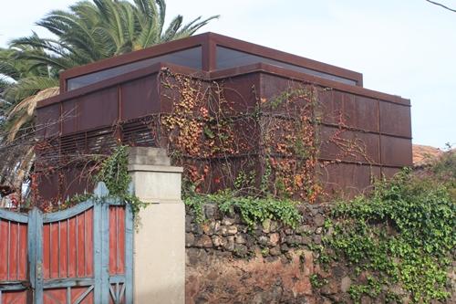 Stahl-Plattenbau als Wohnhaus - Tacoronte
