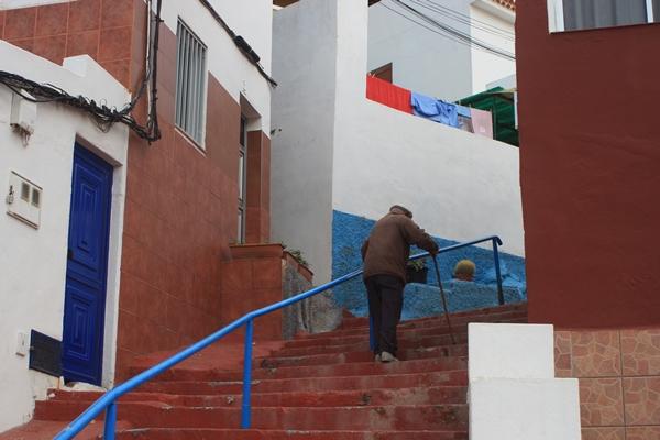 Muehselig ist der Heimweg in El Pris