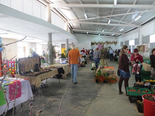 Im Markt von Puntajallana