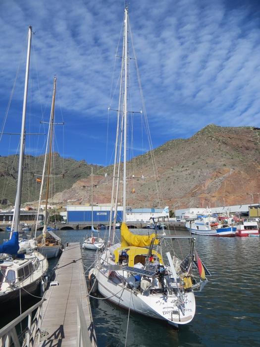 Darsena Pesquera, Santa Cruz de Tenerife - unser Liegeplatz seit Mitte September 2013