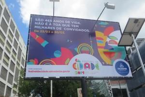 Da sind wir ja genau richtig angekommen! Naechsten Freitag ist grosse Festivitaet hier in Salvador angesagt