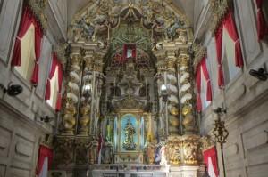 Innenleben der Igreja da Conceicao da Praia