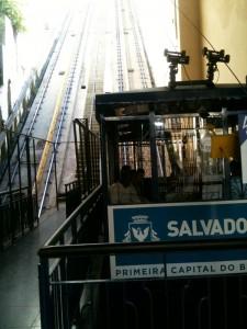 Seilbahn in Salvador - Fahrpreis 0,15 Real