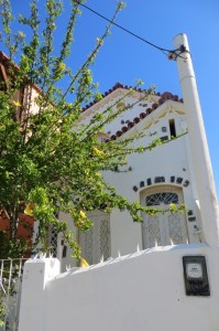 In Itaparica gibt es viele gepflegte Häuser - und mit Blick auf die Bucht sicherlich meistens als Ferienhaus genutzt