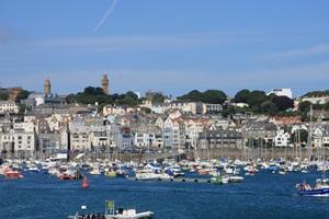 St. Peter Port - Hauptstadt von Guernsey