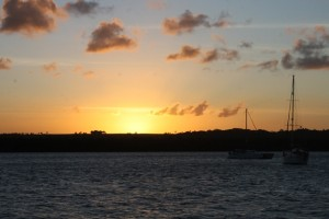 Das geht hier aber auch fix mit dem Sonnenuntergang ....