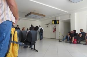 Wartebereich der Policia Federal in Poco