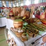 Weihnachtsmarkt in Port of Spain - im Jungendzentrum wird viel Kunsthandwerk angeboten