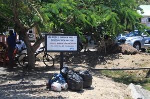 Müllabgabestelle Falmouth Harbour