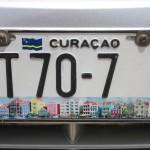 Nummernschild von Curacao