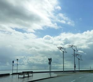 Vom Winde verweht am Fliegerdeich