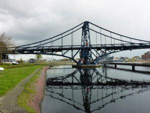 Kaiser-Wilhelm-Brücke im Grossen Hafen