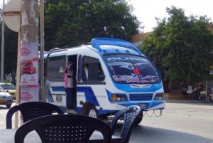 Typischer Bus in Cartagena