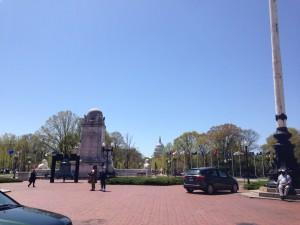 Blick von der Union Station Richtung Capitol