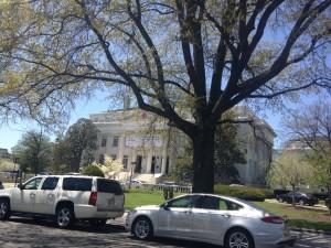 Viel Grün, viele Parks gibt es in Washington.