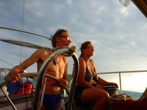 Spannung beim anlaufen von Key West
