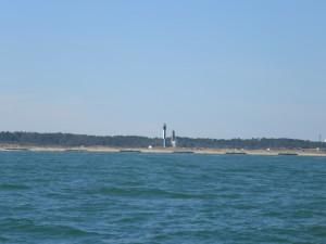 Leuchttürme bei Norfolk, am Eingang der Chesapeake Bay
