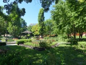 Park in der Park-Stadt Toronto