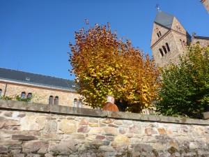 das berühmte Kloster der heiligen Hildegard