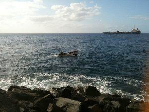 Angelboot vor Las Teresitas.JPG